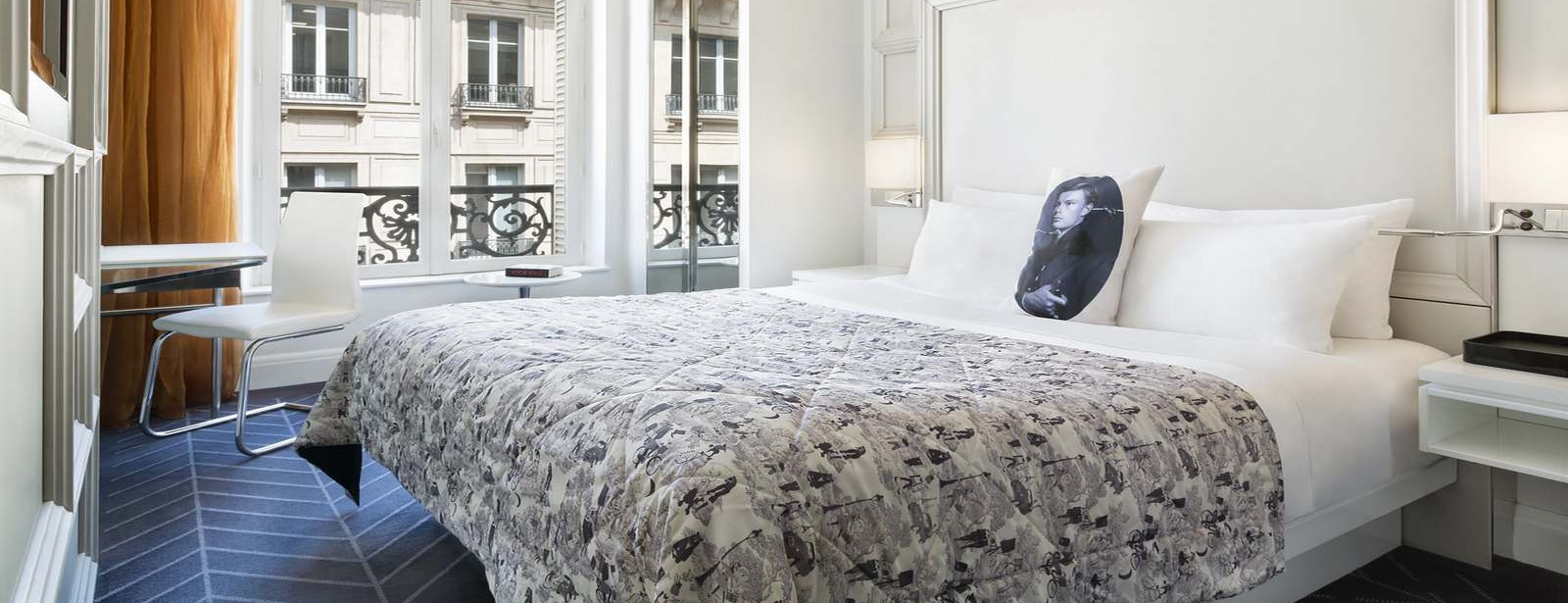 Cozy Room in W Paris-Opéra
